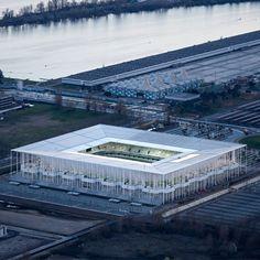 Six football stadiums designed by Herzog & de Meuron (and one Bird's Nest).