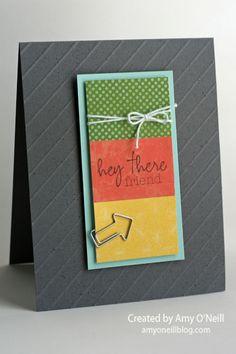Diagonal Friend...Amy O'Neill Blog