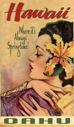 Ideas travel poster beach vintage hawaii for 2019 Hawaii Vintage, Vintage Tiki, Vintage Surf, Vintage Hawaiian, Vintage Ads, Vintage Travel Posters, Vintage Postcards, Travel Ads, Travel Photos