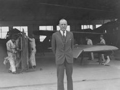 William Langhorne Bond, China's Wings main character, at Lunghwa Airport in the middle 1930s