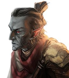 Morrowind Dunmer by ~TheMinttu on deviantART