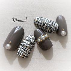 Make an original manicure for Valentine's Day - My Nails Gray Nails, White Nails, Korea Nail Art, Nail Design Spring, Animal Nail Art, Classic Nails, Japanese Nail Art, Creative Nails, Perfect Nails