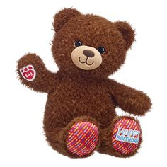 We LOVE birthdays – and when it comes to birthday fun, Birthday Treat Bear takes the cake! This cuddly brown teddy bear for birthday gifting has candles on its paw pads! Outfit this furry friend online to make the perfect gift. Bear Birthday, Birthday Treats, Birthday Month, Birthday Fun, Birthday Gifts, Brown Teddy Bear, Cute Teddy Bears, Happy Birthday Messages, Christmas Gift Box