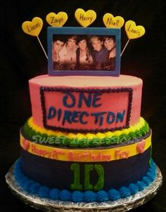 One Direction 1D Cake