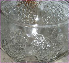 1980's Punch Bowl 18 pc. Set Indiana Glass by BackStageVintageShop
