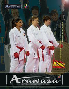 Spain Kumite Female Team #arawaza #kumite #sports_equipment