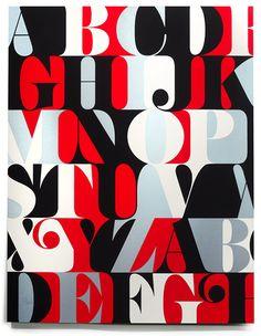 PLINC Caslon Alphabet Print  Benguiat Caslon from Photo-Lettering  Original alphabet by Ed Benguiat  Digitized by Christian Schwartz