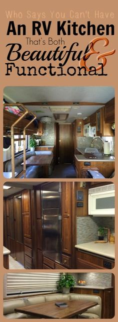 For a relatively small kitchen by household standards at only 8′ wide by 9′ 9″ long, our RV galley is seriously functional – all the major components lined up on one side, a…