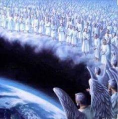 Angel Pictures, Jesus Pictures, Art Prophétique, Celestial, Image Jesus, Prophetic Art, Biblical Art, Angels Among Us, Archangel Michael