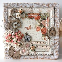Great Times Mini Album by Ingrid Gooyer, Aug 2012