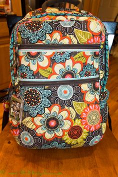 Love this Vera Bradley Tech Backpack in Flower Shower. Perfect. <3