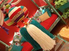 1000 images about borlas y llaveros on pinterest for Cortinas decorativas