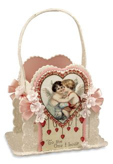 Victorian style Valentine ornament by Bethany Lowe