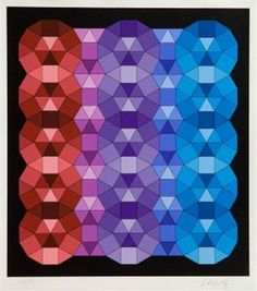 One of my favourite pieces of art; Victor Vasarely 'Senza Titolo'