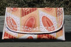 Peachie Ankara Clutch on Etsy, $25.00