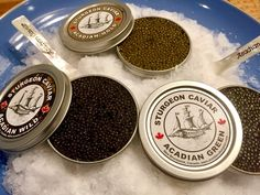Trio of Acadian Caviar (Wild, Gold and Green)