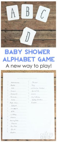 Baby shower game childrens book trivia instant by lashepherd 800 an new way to play the alphabet baby shower game free printable cards solutioingenieria Image collections