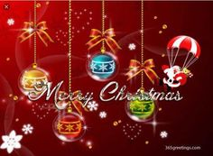 Merry Christmas...card front