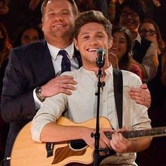 Looks like James is the proud father of his son Niall's guitar performance