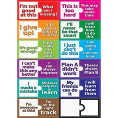 """Change Mindset Magnetic Die-Cut Mini Bulletin Board Set features a write-on, wipe-off surface. Sheet measures 12"""" x 17""""."""