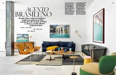 """@revistaAD magazine publishes this month, a 6 page article of one of our latest interior design projects """"Casa L"""". @abaton_arch carried out this wonderful rehabilitation.  🏡 🔝  #bataviamadrid  #abaton #proyectosarquitectura #proyectosinteriorismo"""