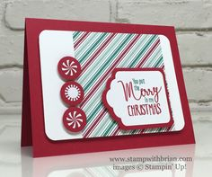 My Hero, Candy Cane Lane Designer Series Paper, Presents & Pinecones…