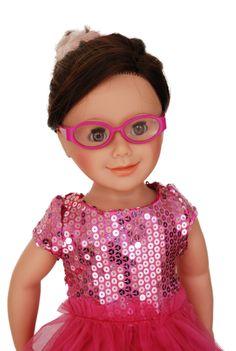 Wiosna-lato! Różowa sukienka i okularki :)