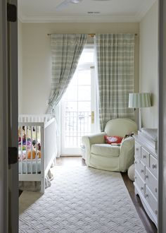 A Victorian Row House With A Mix of Design Eras | Rue Kid Spaces, Living Spaces, Decor Interior Design, Interior Decorating, Chic Nursery, Nursery Inspiration, Nursery Design, Modern Family, Family Room