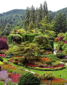 Butchart Gardens,BC,Canada