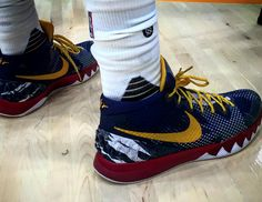low priced 68e75 1cca5 Here Are the Sneakers Kyrie Irving Wore to 2015 NBA Media Day. Basketball  shoesNike ...