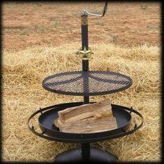 Cowboy Campfire Grill
