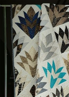 Keepsake Quilting - Autumn 2014 - page 55  Cleopatra's Fan