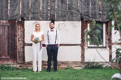 Hochzeitsinspiration: Vintage-Scheunenhochzeit in Pflaume and Grau