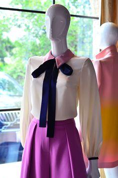 Roksanda Pre-Fall 2016 Silk Blouse