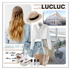 """""""LucLuc¤10¤"""" by sneky ❤ liked on Polyvore featuring DOMESTIC and Deborah Lippmann"""