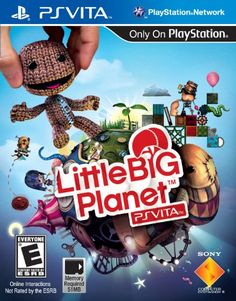 LittleBigPlanet - PlayStation Vita - The creative Platforming fun of the LittleBigPlanet franchise comes to the PlayStation Vita handheld gaming system Introducing new ways to play, including front and rear touch control, tilt functonality and much more Multiplayer fun with pass 'n' play, multi-touch, and online play modes