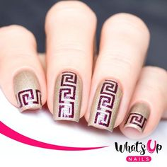 Whats Up Nails - Greek Tape from WhatsUpNails.com @whatsupnails