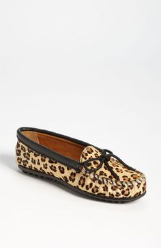 Minnetonka 'Full Leopard' Moccasin available at Nordstrom, sz 6 & 8 (Nordstrom gift cards maybe?)