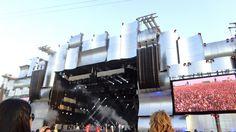 The big 'Palco Mundo' stage! Stunning! - Rock in Rio 2013, Brazil.