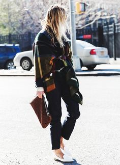 Pointed-toe flats and heels always look more professional and expensive: