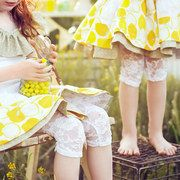 These lace leggings are perfect under spring dresses or to take summer dresses through early fall! Sienna feels naked without them! Lovely Lace Leggings event on today! Ruffle Romper, Lace Ruffle, Lace Leggings, Girls Dream, Spring Dresses, My Girl, Baby Kids, Little Girls, Kids Fashion