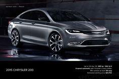 2015 Chrystler 200.... well done! #Chrysler #200 #Rvinyl   ============================= http://www.rvinyl.com/Chrysler-Accessories.html