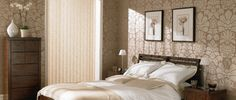 Vertical blinds @All Things Luxury @Kathryn Mulvaney