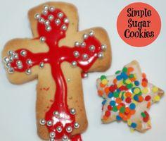Simple Sugar Cookies Recipe #ad #sweetcreations