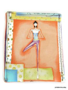 Omm Yoga Tree Pose Phone Cozy Case for Smart by joliefemmebydiana