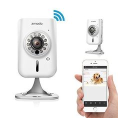 Special Offers - Zmodo 720p HD Wireless Wifi Network IP Home Indoor Security Camera w/ Two-way Audio SmartLink Easy Setup Remote Access in Seconds - In stock & Free Shipping. You can save more money! Check It (June 18 2016 at 08:18PM) >> http://smokealarmsusa.net/zmodo-720p-hd-wireless-wifi-network-ip-home-indoor-security-camera-w-two-way-audio-smartlink-easy-setup-remote-access-in-seconds/