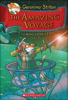 The Amazing Voyage (The Kingdom Of Fantasy #3)