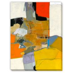 Artist: Bob Hunt Title: Shift to Another Level Product type: Gallery-wrapped canvas art Style: Contemporary Format: Rectangle Size: Oversized Subject: Abstract Image Dimensions: 40 inches high x 30 inches wide Stretcher Bar Size: 1.5 inches high x 0.5 inches wide