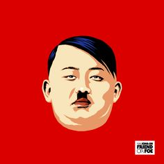 "ARTIST: Butcher Billy ""KIM JONG-UN FIEND OR FOE"" |  More > http://yellowmenace.tumblr.com/tagged/butcher%20billy | #Yellowmenace #AsianInspired #popart"
