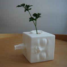blockhead vase #3D #3Dprint #3Dprinting [more pics on Cults website]